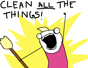 clean-all-the-things